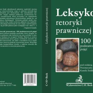 Nicholas Cieslewicz publikacje Leksykon retoryki prawniczej