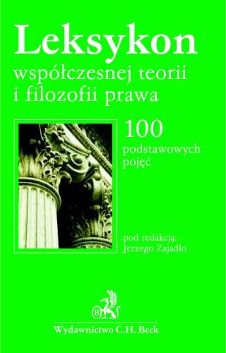 Cieslewicz publikacje Leksykon współczesnej teorii i filozofii prawa